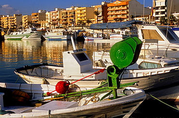 fishing port.Garrucha, Almeria province, Andalucia, Spain.