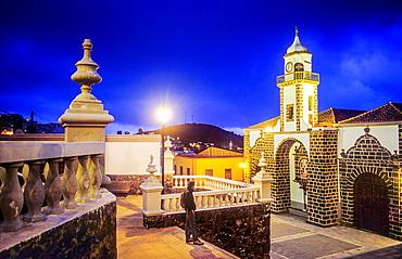 Church Iglesia de la Concepcion, Valverde, El Hierro, Canary Island, Spain, Europe.