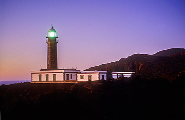 Orchilla Lighthouse, El Hierro, Canary Island, Spain, Europe.
