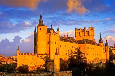 Alcazar, Segovia, Castilla-Leon, Spain.
