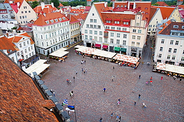 Town Hall Square,Tallinn,Estonia.