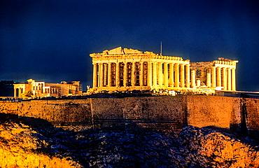 Parthenon, Acropolis, Athens, Greece, Europe.