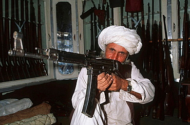 Pakistan, N W Frontier Province, village of Darra Adam Khel, gun factory