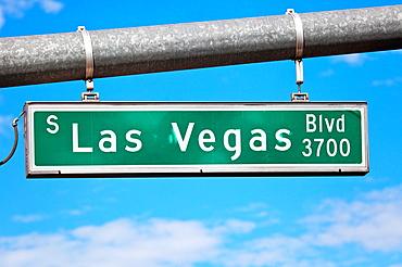 Las Vegas Blvd Sign, Las Vegas, USA