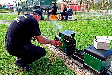 Miniature Train, Mechanical