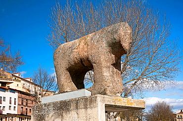 Celtic boar ( mentioned in the picaresque novel El Lazarillo de Tormes ), Salamanca, Region of Castilla y Leon, Spain, Europe.
