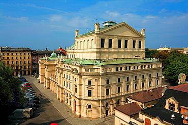 Slowacki Theatre in Krakow, Poland.