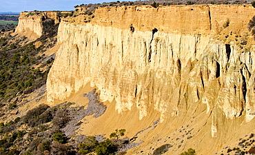 Parque Natural de las Bardenas Reales. Navarre. Spain.