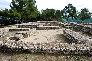 Iberian settlement,  La Bastida de les Alcusses. Moixent (Mogente). Valencia. Spain. Spain.