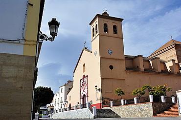 Church of the Annunciation XVI century. Ugijar, Las Alpujarras, Almeria, Spain
