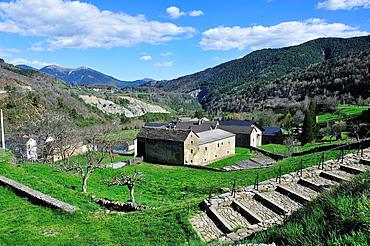 Broto Valley. Linas de Broto. Aragonese Pyrenees. Huesca, Spain