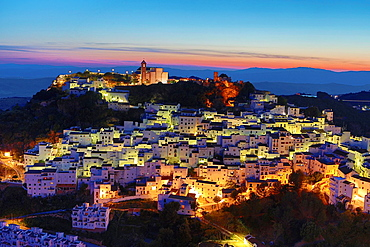 Spain, Andalucia Region, Malaga Province, Casares City.