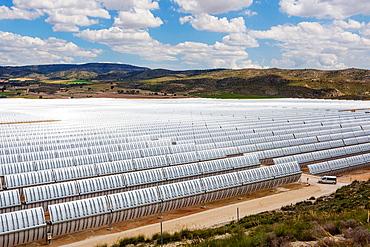 Spain, Murcia Province, solar energy.