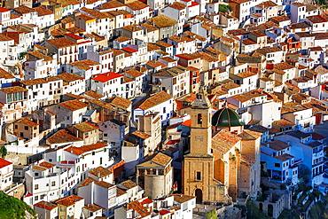 Spain, Castilla La Mancha Region, Albacete Province,Alcala del Jucar City.