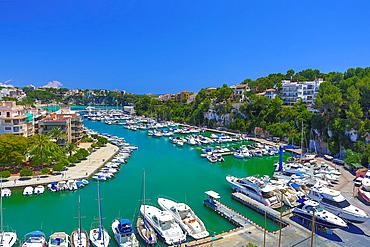 Spain, Mallorca Island, East Mallorca, Porto Cristo City.