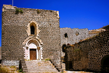 Chapel in the Crusader castle, Marqab, Syria