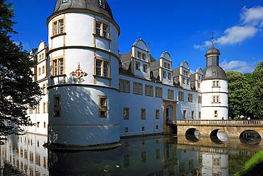 D-Paderborn, Pader, Lippe, Alme, Westphalian Lowland, East Westphalia, North Rhine-Westphalia, NRW, D-Paderborn-Schloss Neuhaus, Schloss Neuhaus, Weser renaissance.