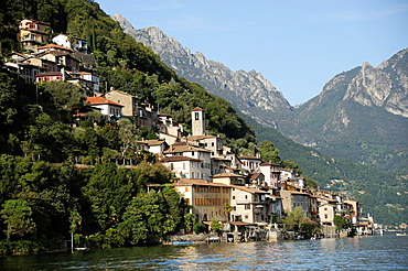 Gandria is both a quarter of the city of Lugano in the Swiss canton of Ticino, and a village, on the northern shore of Lake Lugano.
