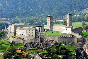Castelgrande, Bellinzona is the administrative capital of the canton Ticino in Switzerland. The city is famous for its three castles (Castelgrande, Montebello, Sasso Corbaro) that have been UNESCO World Heritage Sites since 2000.