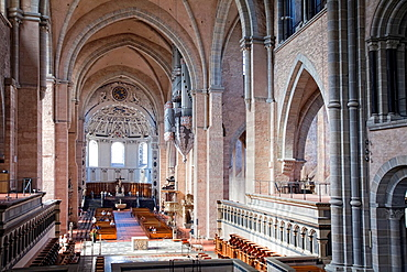Interior view, Cathedral of Trier, St. Peter, Rhineland-Palatinate, Germany, Europe.