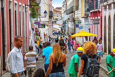 Pelourinho historic center, Salvador, Bahia, Brazil