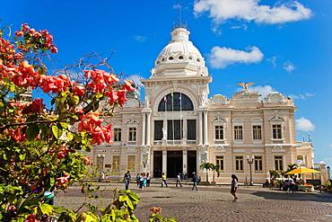 Rio Branco Palace, Pelourinho, Salvador, Bahia, Brazil.