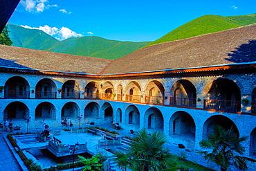 Azerbaijan, Sheki City, Caravanserai.