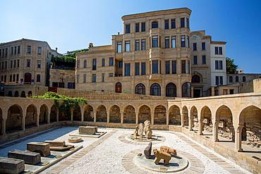 Azerbaijan, Baku City, Old Baku City (W.H.), The Old Bazar.
