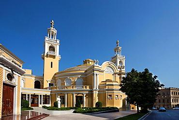Azerbaijan, Baku City, Philharmoni Bldg.