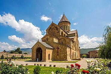 Georgia, Mtskheta City (W.H.), Sveti Tskhoveli Cathedral.