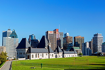 Canada , Quebec Province , Montreal City ,Park Rutherford and Mc. Gill College.