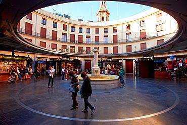 Plaza Redonda. Valencia. Comunidad Valenciana. Spain.