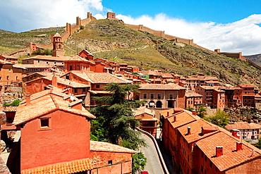Albarracin. Teruel province. Aragon. Spain.
