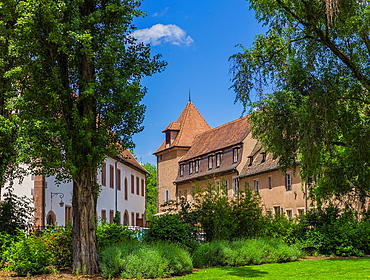 Garrison chapel and ancient artillery depot Strasbourg Alsace France.