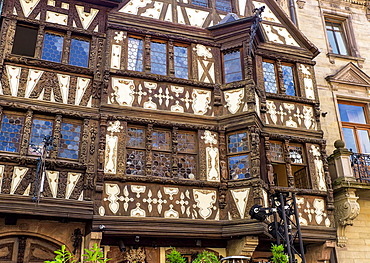 Maison Katz half-timbered house 17th Century Saverne Alsace.