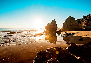 El Matador beach, Malibu, California, USA