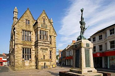 Truro, Coinage Hall, Cornwall, UK.