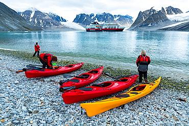 Svalbard Islands, Artic Ocean, Norway, Europe.
