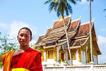 Haw Pha Bang temple in Luang Prabang, Laos.