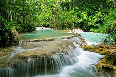 Kwang Si Waterfalls near Luang Prabang, Laos.