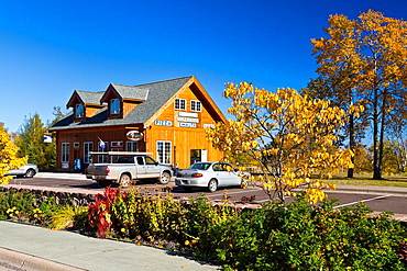 A shop along the north shore of Lake Superior, Minnesota, USA