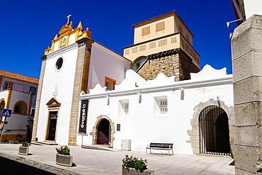 Church and Convent of Salvador, Place Sertorius, Evora, Alentejo, Portugal, Europe.