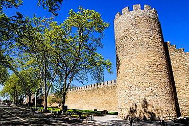 walls of Evora, Alentejo, Portugal, Europe.