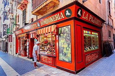 La Pajarita, Chocolatier, Palma, Mallorca, Balearic Islands, spain, europe.