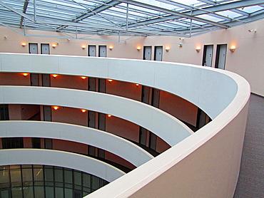 NH Dusseldorf City Hotel interior. Dusseldorf. North Rhine-Westfalia, Germany, Europe.