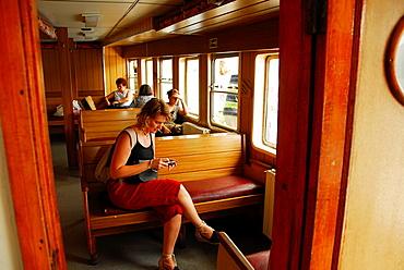 Boat cruise in the Bosphorus. Turkey.