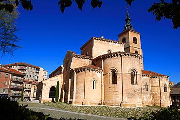 San Millan, Romanesque church, Segovia. Castilla-Leon, Spain.
