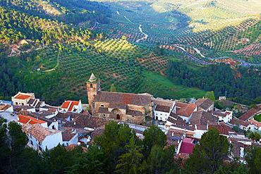 Segura de la Sierra, Sierra de Cazorla, Segura y Las Villas Natural Park, Jaen province, Andalusia, Spain.