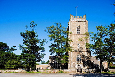 Aldeburgh, Parish Church of St, Peter & Paul, Suffolk, England.