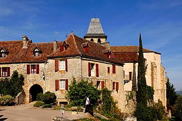 Loubressac, (les plus beaux village de France), Lot, France.